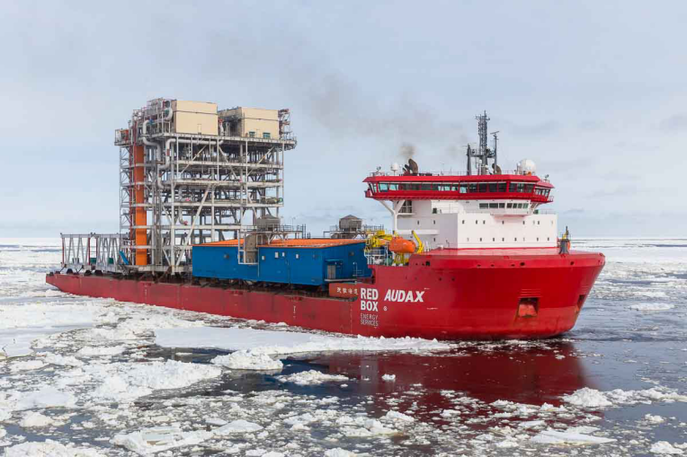 Polar Class Heavy Transport Deck Carrier Vessel