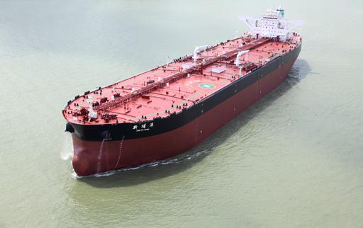 308000载重吨超大型油轮